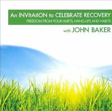 (New CD) An Invitation To Celebrate Recovery by John Baker (1 CD)