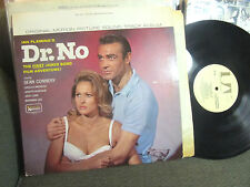 Monty Norman DR. NO James Bond Soundtrack '63 LP MONO OST uala275G misprint '78!