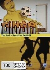 Ginga - The Soul Of Brasilian Football (DVD, 2006)(D98)