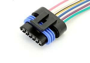 6 Wire Throttle Position Sensor TPS Connector Pigtail Wiring LS1 LS6 Corvette