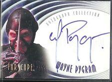 Farscape Season 2 Autogramm A9 Wayne Pygram Scorpius