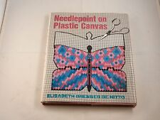 "NEEDLEPOINT ON PLASTIC CANVAS ""NEW"" BY ELISABETH BRENNER DE NITTO"