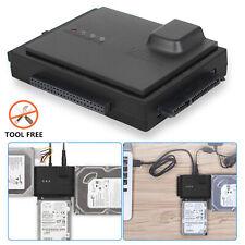 Enclosure for 2.5&3.5&5.25 Inch HDD SSD SATA (SATA I/II/III) Hard Drive, 10TB