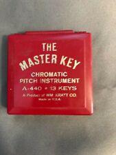 Kratt, The Master Key Mk1-S, Chromatic Pitch Instrument, Keys F to F