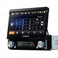 AUTORADIO GPS 1 DIN 7 POLLICI HD ESTRAIBILE DVD USB SD DAB+ MP3 XTRONS D719G