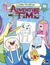 New - Learn to Draw Adventure Time (English) Paperback Book