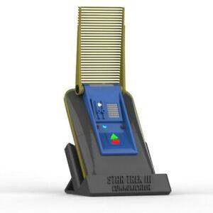 Communicator - Star Trek III - Cosplay - 3d printed + LEDs + Stand