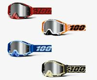 100% RACECRAFT PLUS Goggles -ALL COLORS- Offroad MX Motocross - FREE PRIORITY