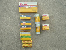 kodak B&W film expired mixed lot 120 and 135
