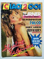 CIAO 2001 N. 38-1986 TINA TURNER IRON MAIDEN BOY GEORGE VENDITTI