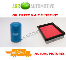 PETROL SERVICE KIT OIL AIR FILTER FOR NISSAN SUNNY 1.4 87 BHP 1990-95