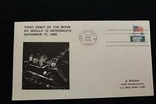 SPACE COVER 1969 MACHINE CANCEL APOLLO 12 1ST ORBIT OF THE MOON SARZIN (2730)