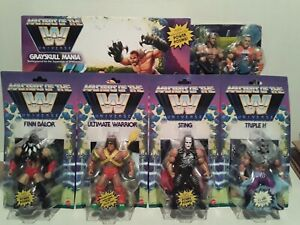 Masters of the WWE Universe Wave 1 and GREYSKULL RING lot STING, WARRIOR, CENA