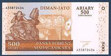 MADAGASCAR -  500 ARIARY Pick n° 88 de 2004 non daté en NEUF A3387240A