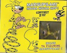 Coffret 2 DVD MARSUPILAMI + 1 Figurine NEUF