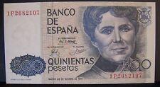 1979 Spain, Bank of, 500 Pesetas Note, Nice CU          ** FREE U.S SHIPPING**