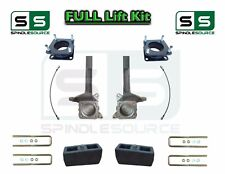 """2007 - 2016 Toyota Tundra 5.5"""" / 4 inch Spindle Block Lift Kit 2WD Brake Lines"""