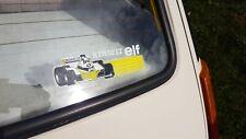 Sticker Renault Elf F1