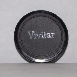 Usato Vivitar 55mm Id Copriobiettivo Anteriore Infilare Su Tipo Per 52mm Cerchio