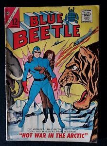 "Charlton Comics BLUE BEETLE #2  (1964) ~ ""Hot War In The Arctic"""
