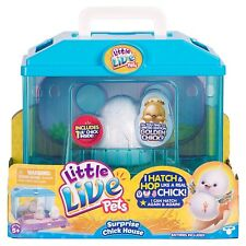 LITTLE LIVE PETS SURPRISE CHICK HOUSE WITH GOLDEN CHICK LTD. EDITION ** NEW **
