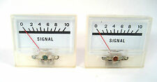 """2""""Panel Meters: 0-1mA Movement: Great for Qrp and Other Homebrew Projects: 2/Lot"""