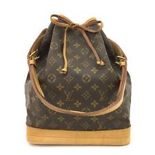 100% Authentic Louis Vuitton Monogram Noe Drawstring Shoulder Bag /70718