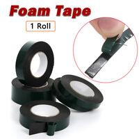 1 rouleau de ruban adhésif double face en mousse de montage rouleau noir 5-80 mm