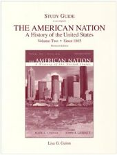 Study Guide for The American Nation: A History of the United States, Volume 2 (