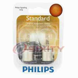 Philips Rear Turn Signal Light Bulb for Simca 1118 1204 1969-1971 Electrical jo
