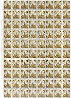 S17622) Italy MNH 1980 Castles L.10 1v Full Sheet Folded