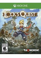 Lock's Quest Xbox One Kids Game Rare Fantasy Rpg Collectible