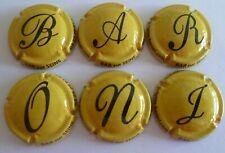 Champagne capsules Baroni Brigitte