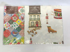Vintage Lot Gordon Fraser Christmas Gift Wrap NOS!