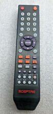 Used Original Sceptre Remote Control for X322BV,E246BV-FC,X505BV-FMQCC TV