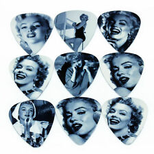 Lot 2 Médiators Marilyn Monroe Guitare Basse NEUF