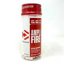 Dymatize Ampli Fire 60 Capsules Use Daily For Energy Burn Fat, Weight Loss