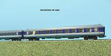 RIVAROSSI HR 4220 set 2 carrozze tipo UIC-X in livrea XMPR PAX