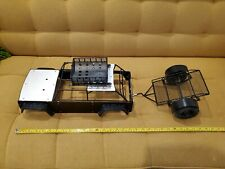 1:10 RC AXIAL SCX10  ROLL CAGE, ROOF RACK, Trailer (3), All Brand NEW, assembled