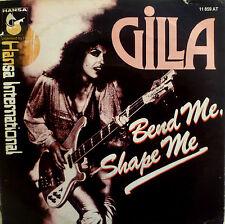 """7"""" 1978 NL-PRESS VG+++  ! GILLA : Bend Me Shape Me"""
