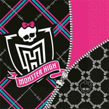 MONSTER HIGH 2 ply  LUNCHEON NAPKINS  ** PACK OF 16 **