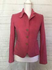 J Crew Pink Wool Blazer Jacket Size Xs