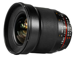 Samyang 16mm F2.0 ED AS UMC CS for Nikon AE