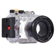 40m Waterproof Underwater Housing for Sony RX100 III Camera