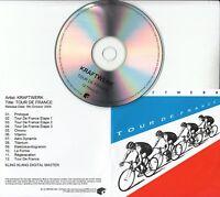 KRAFTWERK Tour De France 2009 UK Mute remastered 12-track promo test CD