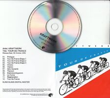 KRAFTWERK Tour De France 2009 UK Mute remastered 12-track promo test CD