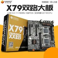 X79 Dual CPU Motherboard LGA 2011 E-ATX USB3.0 SATA3 PCI-E Dual Xeon Processor
