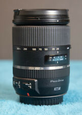 TAMRON zoom lens 28-300 mm F 3.5 - 6.3 Di VC PZD for Canon; Near Mint Condition