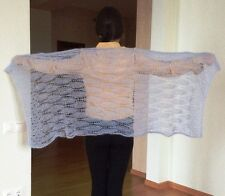 RUSSIAN HANDMADE KNITTED WOMEN'S SHAWL SCARF WRAP SOUTH AFRICA MOHAIR LANTA NEW