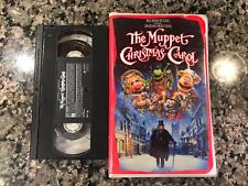 The Muppet Christmas Carol Vhs! 1992 Fantasy! The Muppet Movie Scrooge